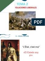 Tema 2 - Revoluciones Liberales