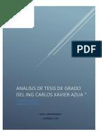 Analisis de Tesis Aucapeña