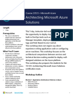 Architecting Azure solutions