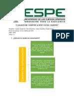 Informe_ Canales de Comunicacion Con El Cliente