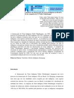 A Gênese Do Processo Histórico de Demarcação de Terras Indígenas No Brasil