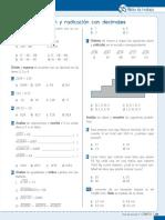 radicación de decimales