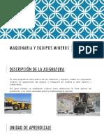 Maquinaria y Equipos Mineros (1)