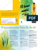 10 Motivi Per Bere Aloe Vera Gel (italiano)