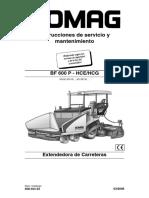 manual de mantenimiento bomag BF600P Esp