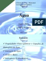Água - IfCE Química