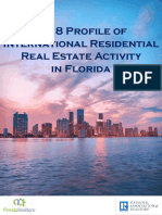 2018 Profile of International Residential Real Estate in Florida 10-25-2018