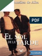 El Sol de La Tarde - Luis Gonzalez de Alba