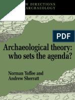 Yoffe & Sherrat - Archaeological Theory.PDF