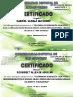 Certificado San Jronimo