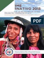 Informe Alternativo 2018 sobre el cumplimiento del Convenio 169