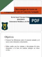 Ventajas y Desventajas de Acero en Comparación con.pptx.pptx