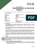 Bases Psicopedagógicas de La Educación Artística_2018_II