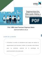 2 GDE Segmentación y Posicionamiento JFEM 2018-2