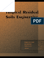 [Bujang B K Huat; Gue See Sew; Faisal Haji Ali] Tropical Residual Soils Engineering