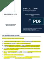 2. Costo Del Capital - Mercados Emergentes
