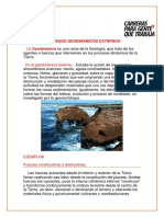 3. PRocesos Geodinamicos Externos