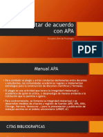 Citar APA. Presentación