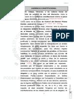 Resolución de Amparo en favor de Flavino Ríos