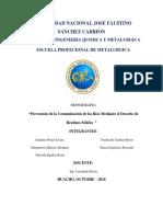 Contaminacion Del Rio Huaura