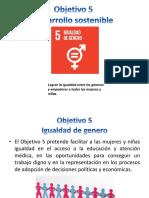 Objetivo 5 Desarrollo Sostenible