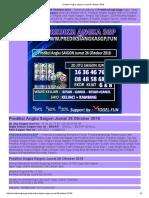Prediksi Akurat Angka Saigon Jumat 26 Oktober 2018