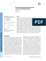 01 11 Origins of bacterial diversity through horizontal genetic transferand adaptation to newecological niches seminario 1 11.pdf