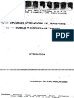 Ingenieria de transito Guido Radelat
