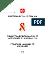 2008 Subsistema de Informacion de Atencion en Vih Sida Its