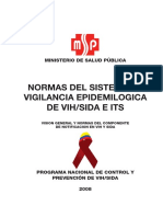 2008 Normas de Vigilancia Epidemiologia VIH Sida