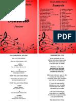 caderno do soprano