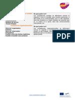 Competences Sociales Et Organisationnelles Classement