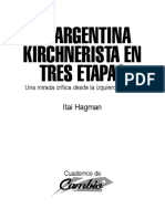La Argentina Kirchnerista en Tres Etapas - Hagman, Itai