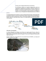 Aspectos Generales Del Complejo Hidroeléctrico de Mantaro