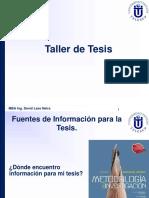 Fuentes de Informacion Para Tesis