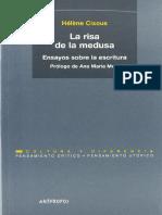 Helene Cixous - La Risa De La Medusa. Ensayos sobre la escritura.pdf