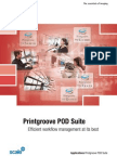 Brochure Print Groove POD Suite