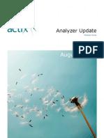 Releasenotes Analyzer Update 2010 08 August
