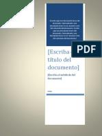 Monografia de La Tutela Jurisdiccional Efectiva