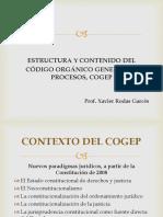 Estructura y contenidodel COGED