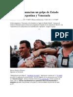 Militares Denuncian Golpedeestadoblandoenvnezuela-Argentina