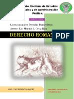 Autoevaluaciones Derecho Romano Final