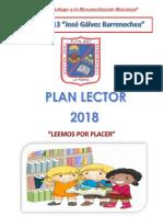 Plan Lector Institucional 2018 Jgb