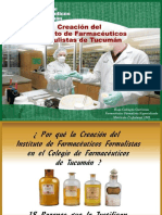 Creacion Instituto Farm Form