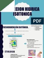 DEPLECION HIDRICA ISOTONICA