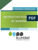 Pf-For-004 Instructivo Formato Nomina Yo Compensaciones v16