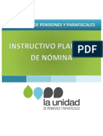 Pf-For-004 Instructivo Formato Nomina Yo Compensaciones v16