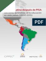 Rivas a 2015 America Latina Despues de PISA
