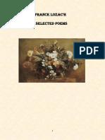 Franck Lozac'h Selected Poems