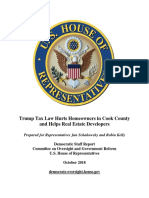 OGR Report on Tax Bill and Homeowners—Chicagoland